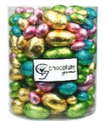 bulk easter eggs a 5kg bulk half easter eggs burgundy mix box easter chocolates