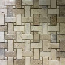 basketweave mosaic tile autumn onyx honed wall floor tile kitchen