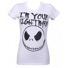 i m your nightmare before t shirt