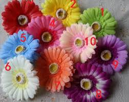 Flowers For Crafts - fake gerbera daisy etsy