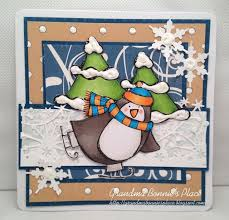 102 best penguin cards images on winter cards