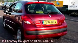 peugeot 207 red 2011 peugeot 207 envy 1 4l red metallic ex11hbj for sale at toomey