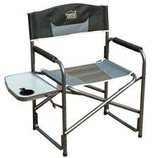 Folding Directors Chair With Side Table Aluminum Directors Chair Ebay