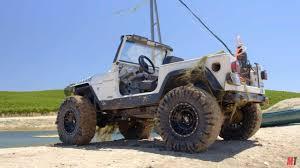 cummins toyota swap jeep wrangler with a cummins i4 drives underwater u2013 engine swap depot