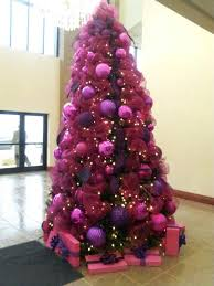 pink and purple tree decorations home design ideas
