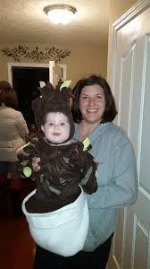 Turd Halloween Costume Wife Son Baby Groot Costume Halloween Pics