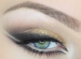 best eye makeup ideas for blue eyes trendy gold