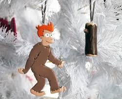 frysquatch futurama and the log log handmade ornaments an