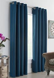 Tie Top Curtains Cotton by Thermal Grommet Top Curtains Grommet Top Insulated Panels