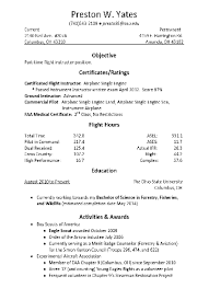 Eagle Scout Resume Sample Pilot Resume Free Resumes Tips