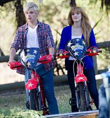 it u0027s a disney reunion for bella thorne and ross lynch as they team