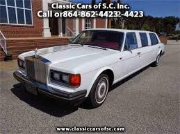 rolls royce limo interior classic rolls royce silver spur for sale on classiccars com