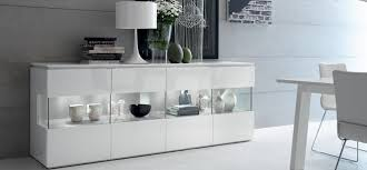 White Lacquered Sideboard How To Care For High Gloss Furniture