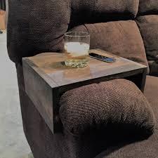 couch arm coffee table sofa arm table new love decor