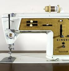 Singer Sewing Machine With Cabinet by Vintage 1968 Singer Sewing Machine Cabinet Ebth