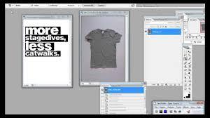 t shirt design erstellen tutorial t shirt vorlage in photoshop erstellen
