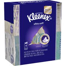 kleenex everyday tissues 160 tissues per flat box pack of