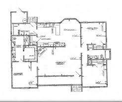 Large Kitchen House Plans Empty Studio Open Floorn Living Room With Large Windows And