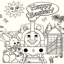 thomas train easter coloring pages religious easter coloring