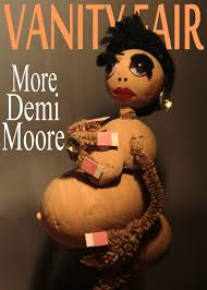 nude pics of demi moore demi moore vanity fair what a doll pinterest vanity fair