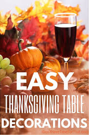 easy thanksgiving table decorations ideas i don t time for