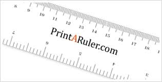 printable ruler pdf a4 how to print a ruler printaruler com