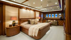 Yacht Bedroom by Mangusta 165 Superyacht Luxury Motor Yacht For Sale With Burgess