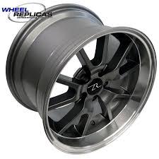 17x10 mustang wheels anthracite dish fr500 mustang wheel 17x10 5
