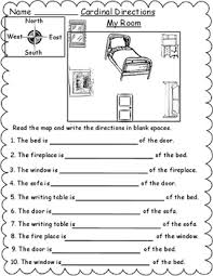 geography map skill cardinal directions worksheets by mzat tpt