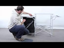 Kitchen Set Aluminium Royal Royal Kitchen Stand With Windshield And Larder Youtube