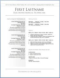 Resume Layout Template Exquisite Design Free Resume Layout Template Fantastical 7