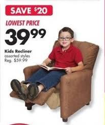 big lots black friday kids u0027 recliner assorted styles for 39 99