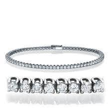 tennis bracelet diamonds images 2 carat round diamond tennis bracelet jordan river diamonds jpeg