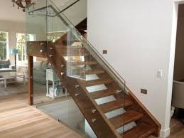 Stainless Steel Stairs Design Glass Stair Railing Kits Gl And Steel Stairs Indoor Custom Made