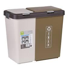 poubelle cuisine tri s駘ectif 2 bacs poubelles de cuisine maison futée