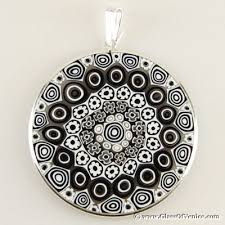 making glass necklace pendants images Millefiori glass jewelry making journal jpg