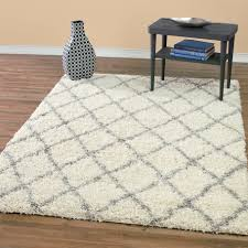 Moroccan Trellis Area Rug by Modern Shag Area Rugs Roselawnlutheran