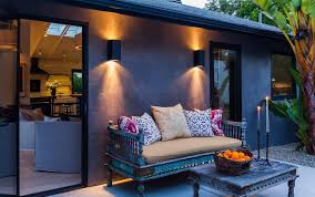 Outdoor Patio Wall Lights Contemporary Exterior Wall Lights Bistrodre Porch And Landscape