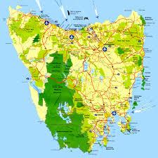 map of tasmania australia tasmania february 2016 the sparkes on the road