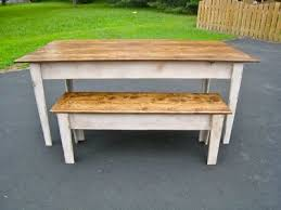 Best  Kitchen Table With Bench Ideas Only On Pinterest Dining - Benches for kitchen table
