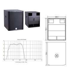 Bass Speaker Cabinet Design Plans Pa Subwoofer Dj Equipment Subwoofer Speaker Box Buy 18 Inch