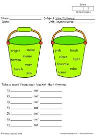 primaryleap co uk rhyming words 2 worksheet