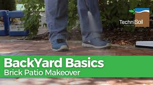 How To Clean Patio Flags How To Clean And Restore A Brick Paver Patio In A Few Hours Youtube