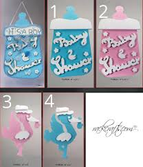 baby shower sign baby shower foam decoration stork baby bottle baby shower sign