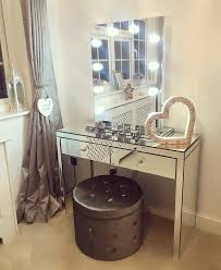 light up makeup table diy vanity mirror with lights for bathroom and makeup station