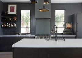 kitchen wall colors with black cabinets 20 sophisticated all black kitchen ideas