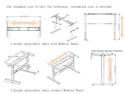 Office Desk Height Standard Standard Computer Desk Height What Is Typical Medium Size Of