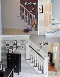 Banister Remodel Corner Living Room Ideas Catarsisdequiron