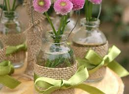 jar vases creative idea creative jar vases with green ribbon and