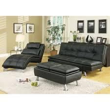 contemporary futon sofa bed coaster furniture 300281 contemporary futon sleeper sofa bed in